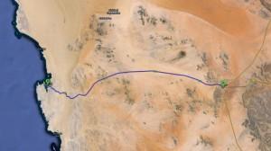 Route: Aus - Lüderitz